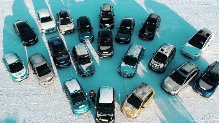 20 электромобилей проверили холодом