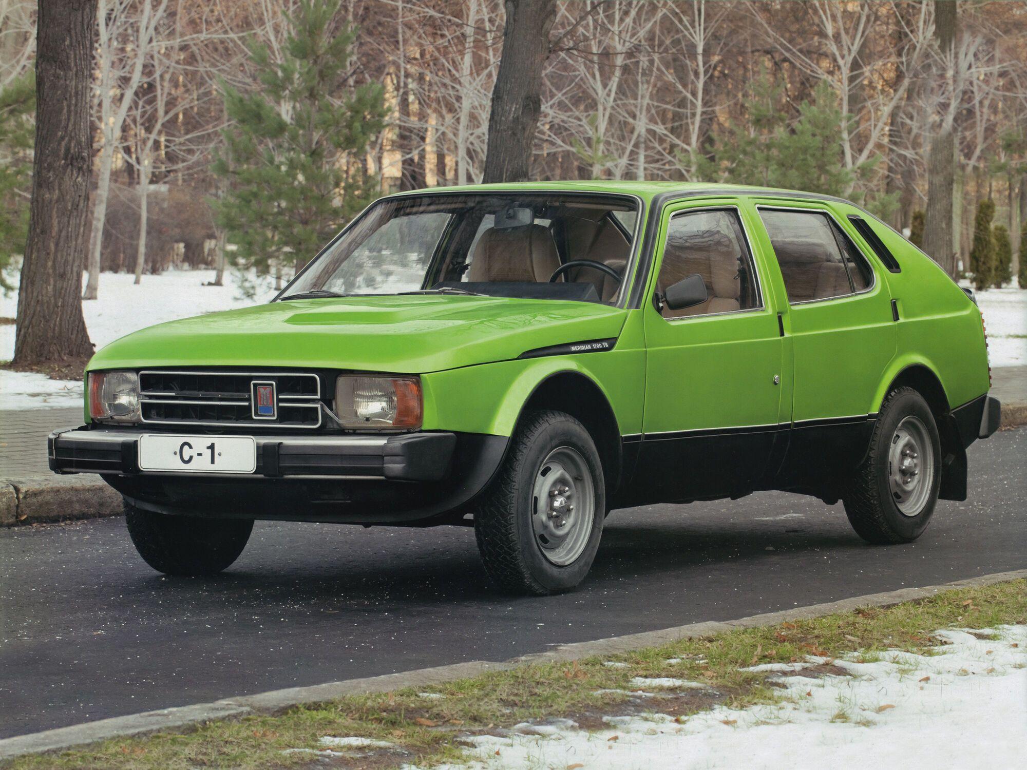 """Опытный образец """"Москвич-С1"""" 1975 г."""