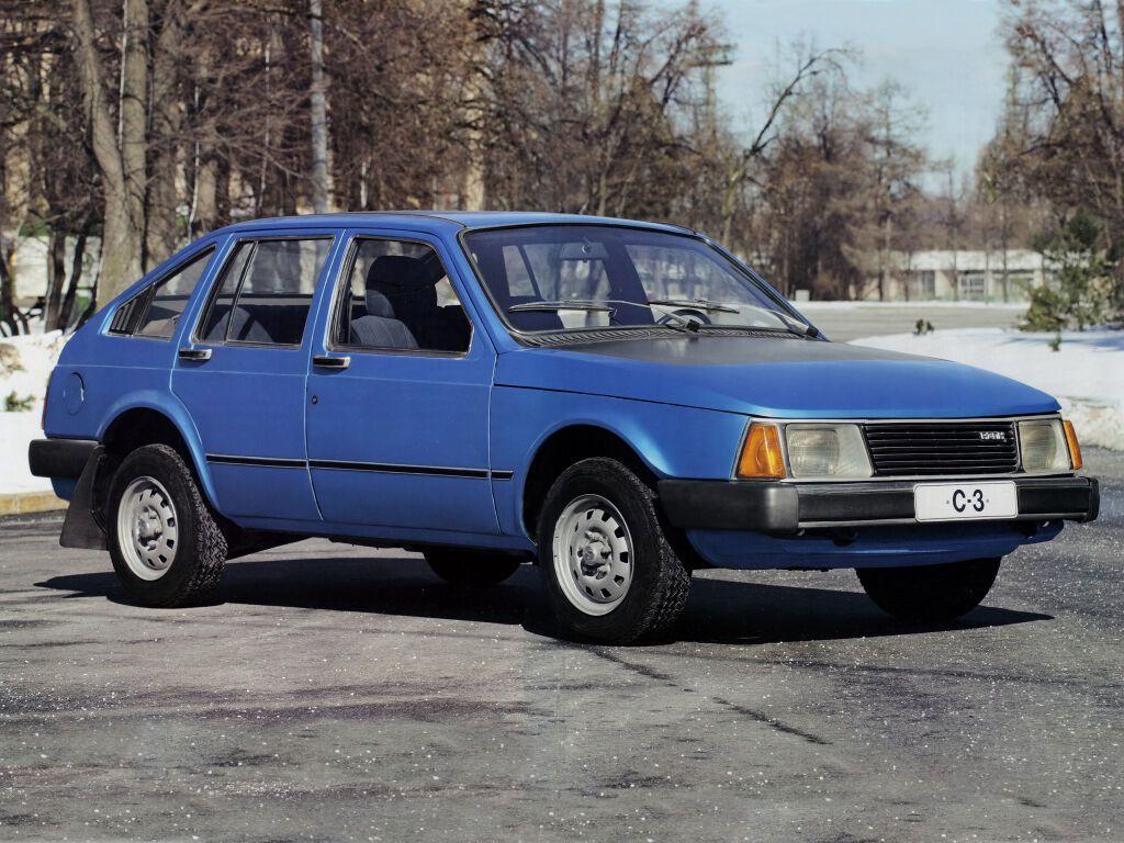 """Опытный образец """"Москвич-С3"""" 1976"""