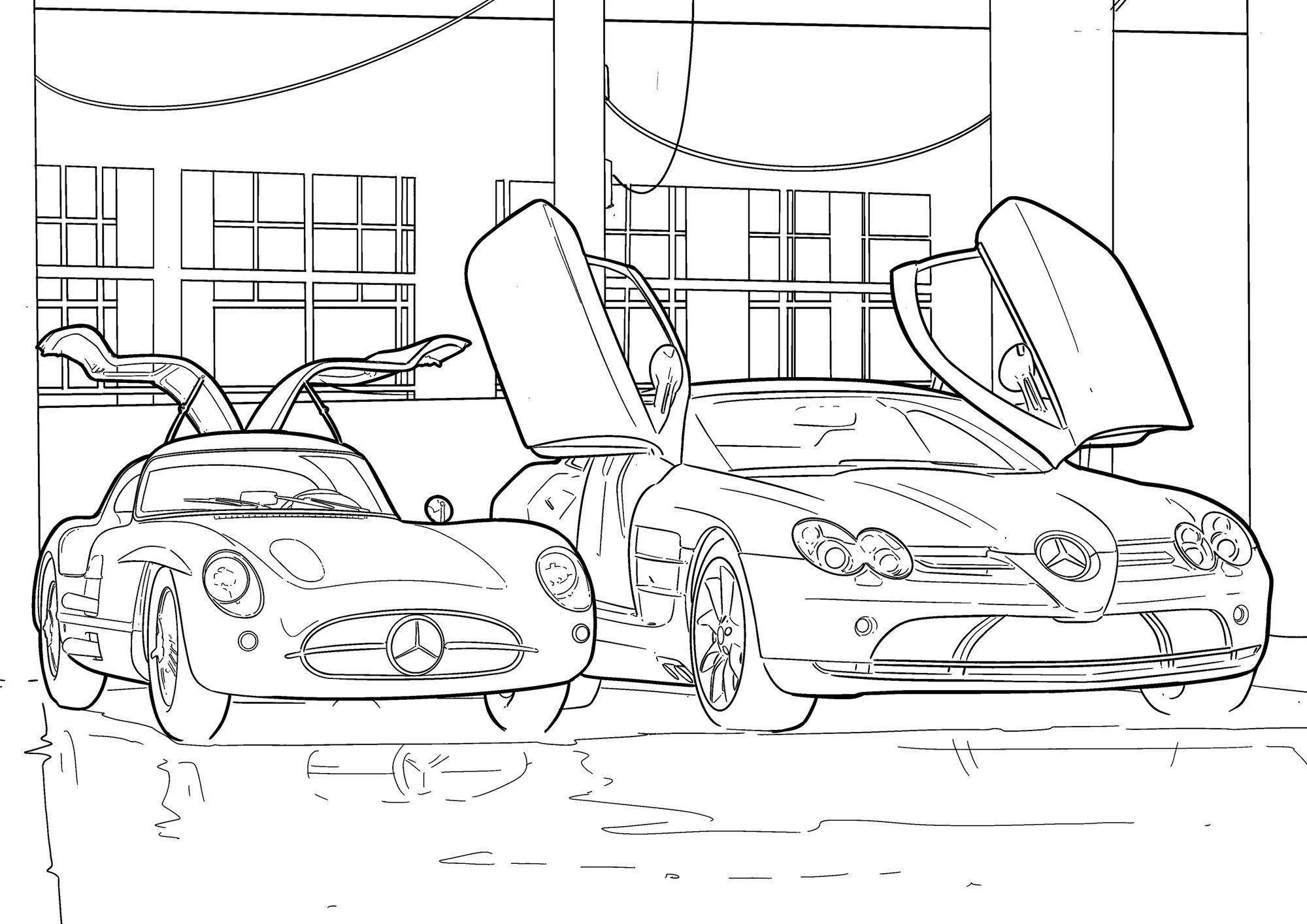 """Весело провести час карантину можна з """"розмальовками"""" від Mercedes-Benz"""