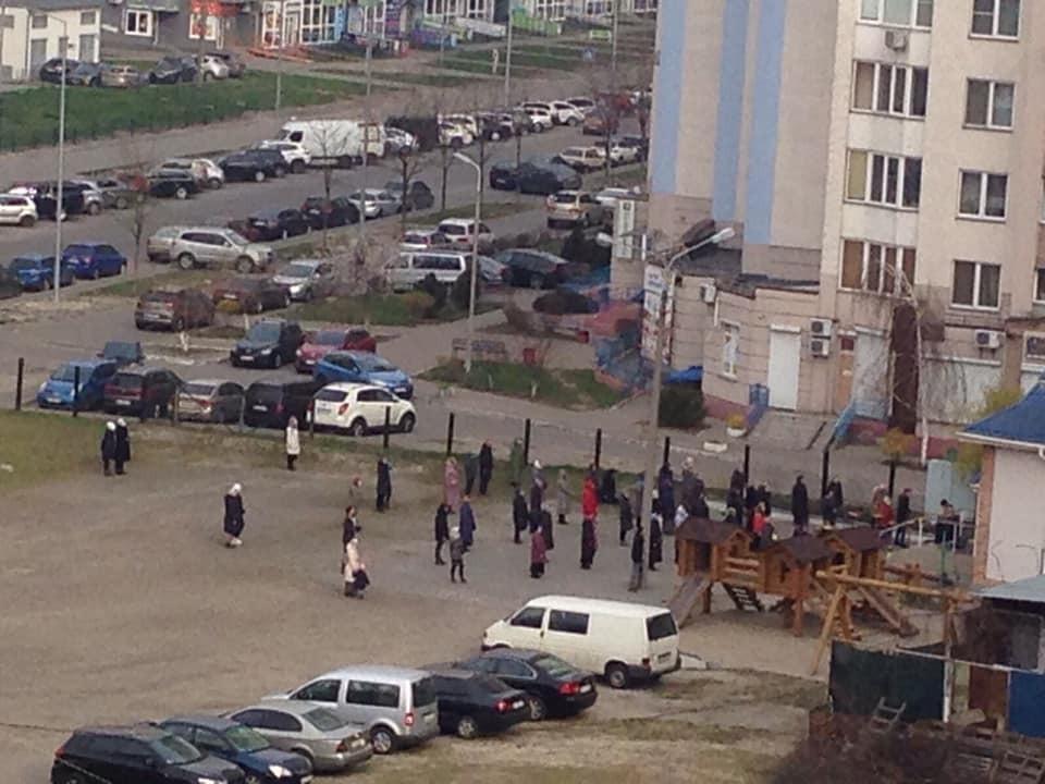 В Киеве нарушают карантин