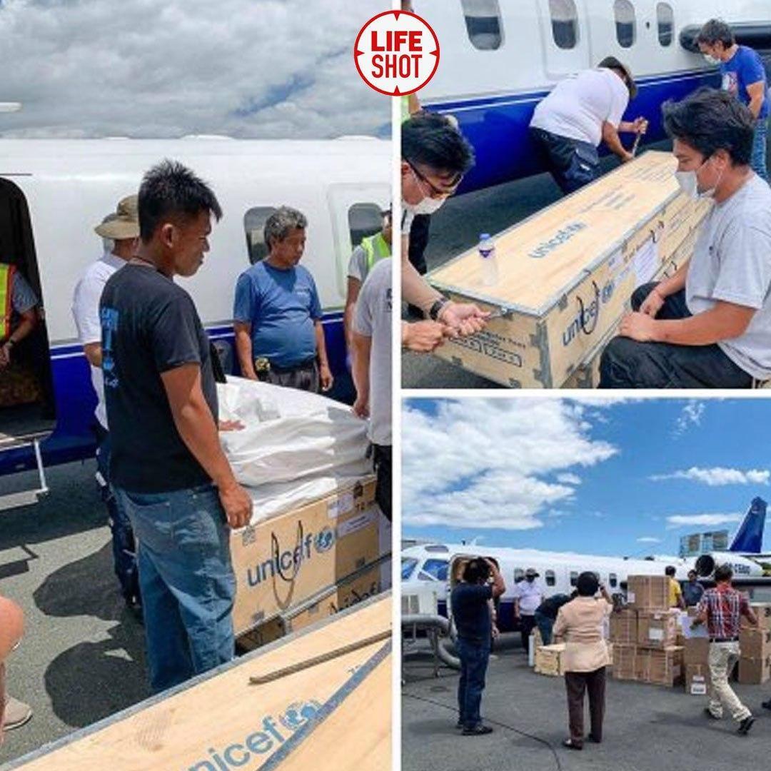 Самолет, который разбился на Филиппинах, перевозил средства для борьбы с коронавирусом