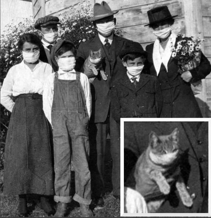 "Нашлось семейное фото карантина во время ""испанки"""