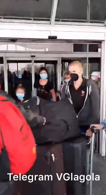 """В """"Борисполі"""" відбулися сутички з українцями, які повернулися з В'єтнаму"""