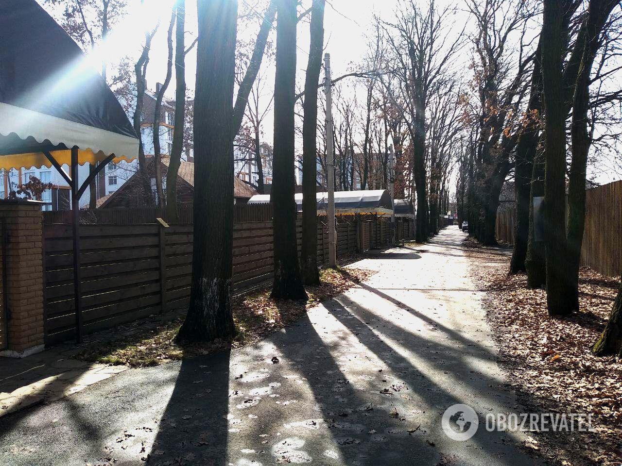 Нападение произошло на территории коттеджного городка в жилом массиве Крюковщина