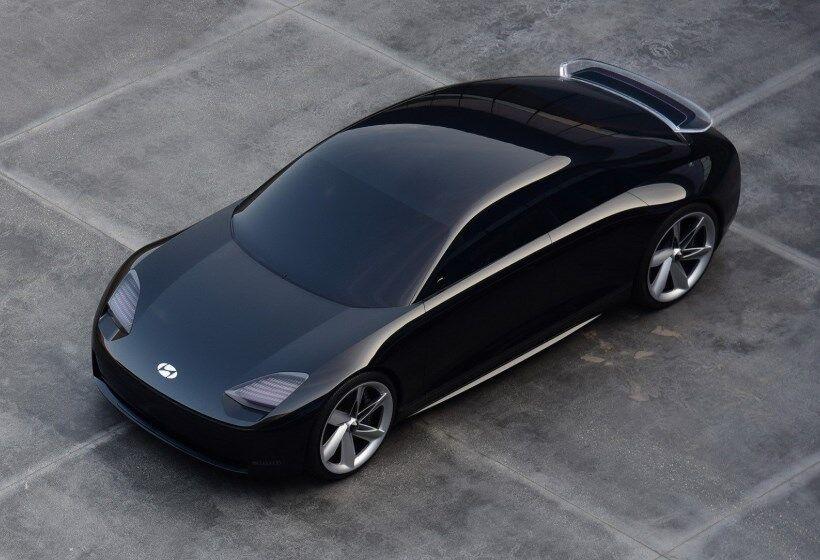 Новый электромобиль получился элегантным