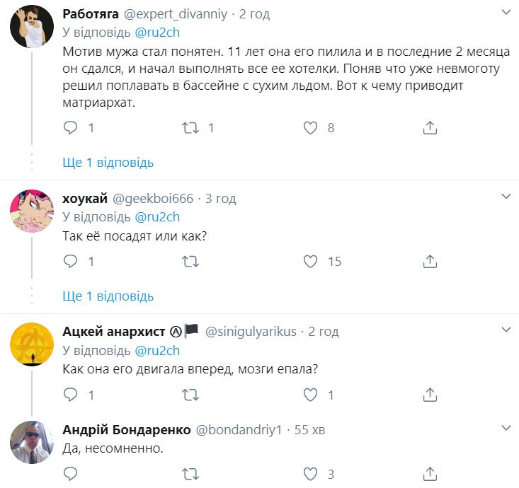Реакція користувачів на зізнання Діденко