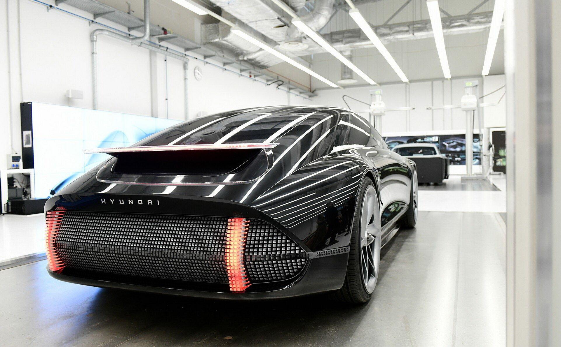 Необычные задние фонари появятся на серийных Hyundai