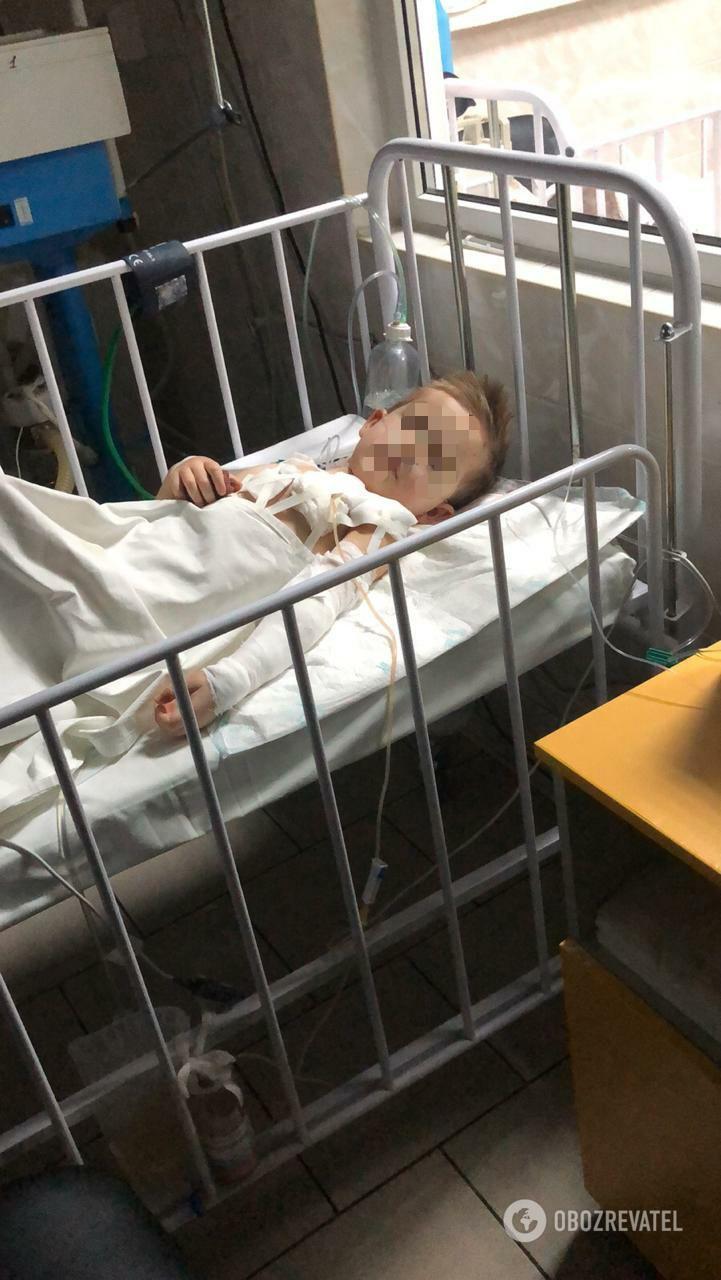 4-річний Михайлик Козирєв перебуває в реанімації