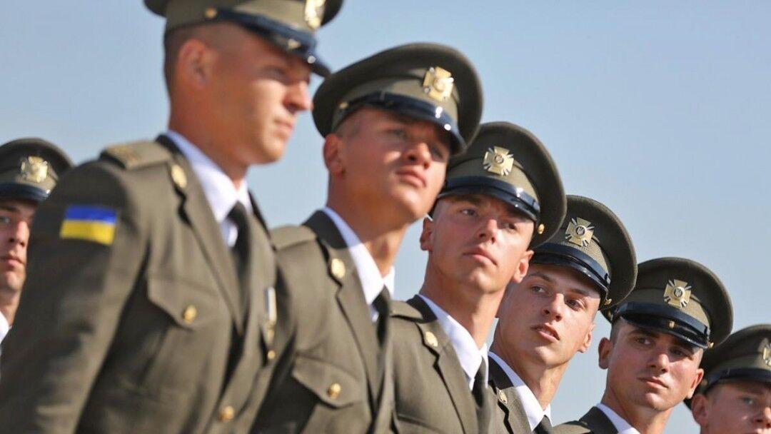 В армию возьмут офицеров запаса