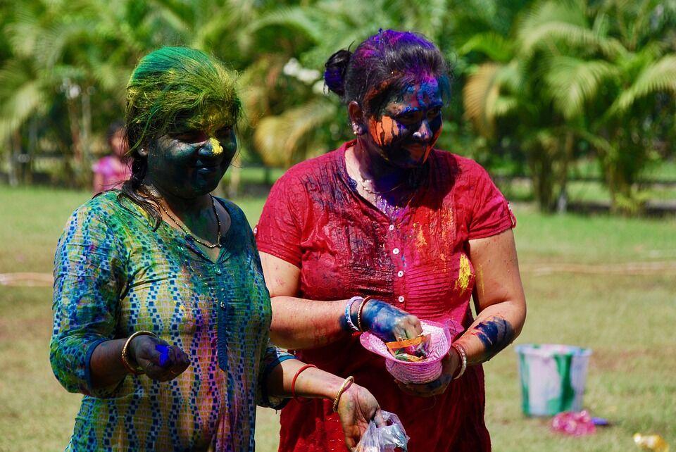 1 квітня в Індії: свято Холі