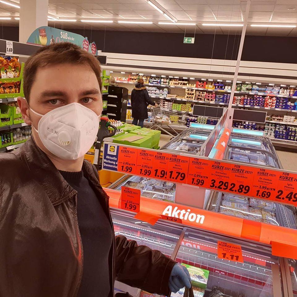 Ситуація в німецьких супермаркетах