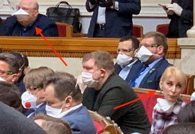 """""""Сейчас коронавирус!"""" Разумков заставил нардепов в Раде надеть маски. Видео"""