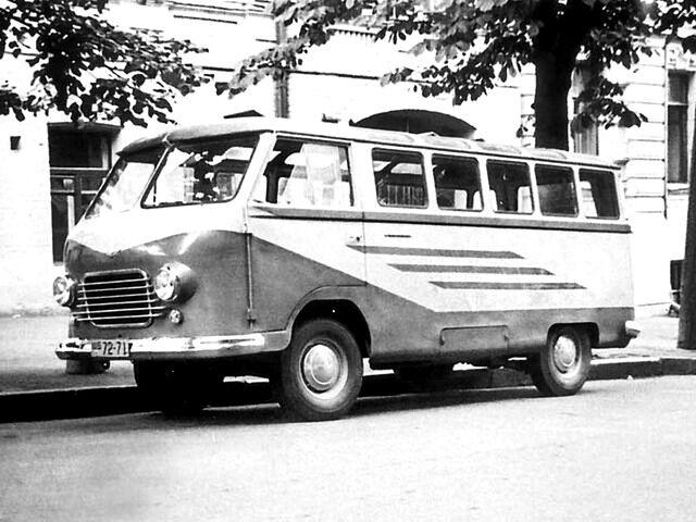 Архівне фото РАФ-977В (1960-61 р.в.)