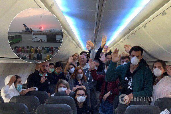 Українці, що прилетіли з Балі