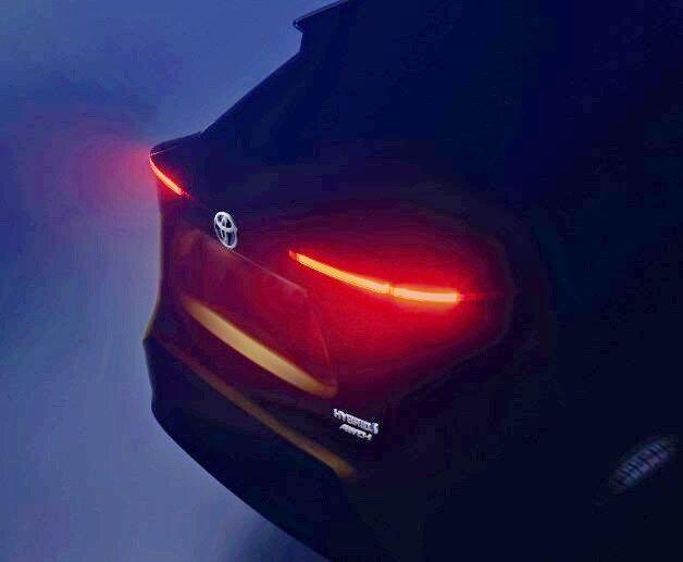 У нового кроссовера Toyota есть задние фонари. Ура