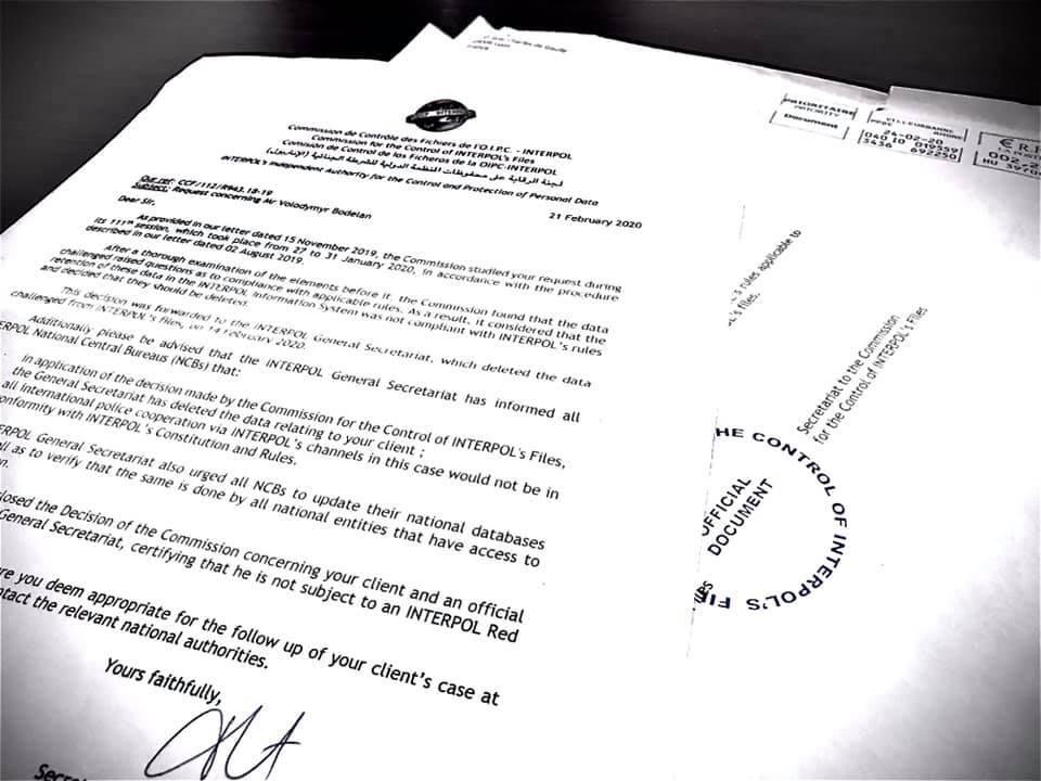 Інтерпол скасував розшук ексглави ДСНС Одеси Боделана щодо трагедії 2 травня