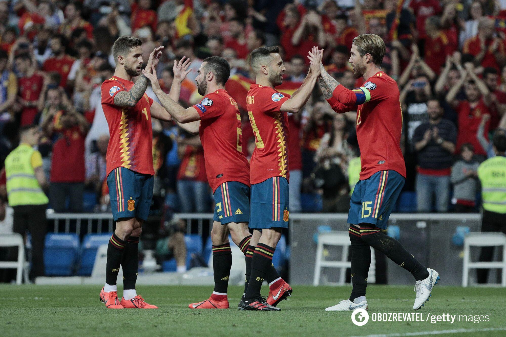 Іспанія святкує вихід на Євро-2020
