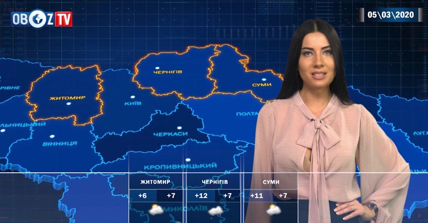 Де в Україні погіршиться погода: прогноз на 5 березня від ObozTV