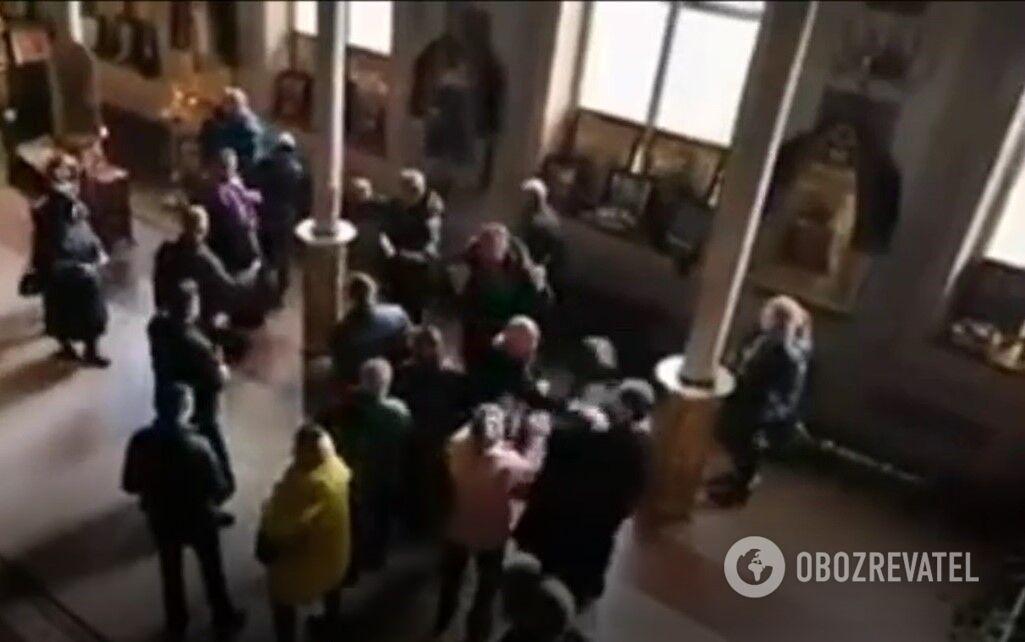 В одесском храме жестко подрались священники