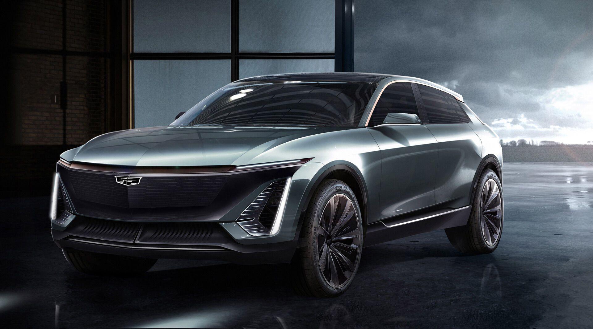 Электромобиль Cadillac Lyriq