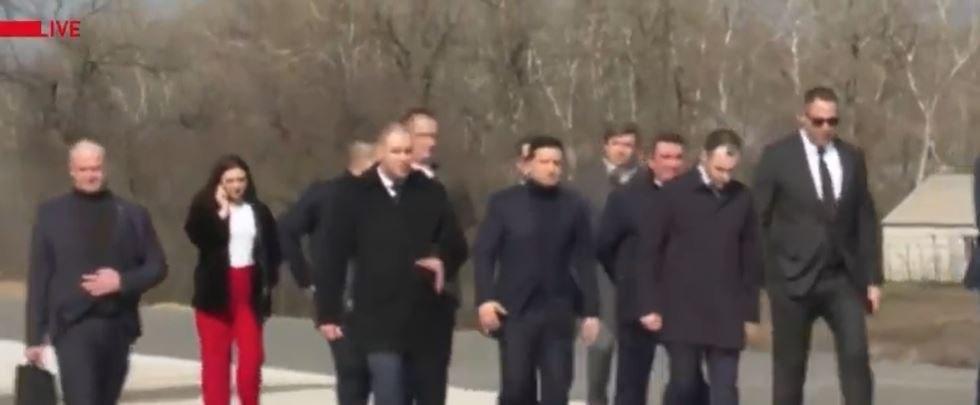 Зеленский прибыл на Полтавщину