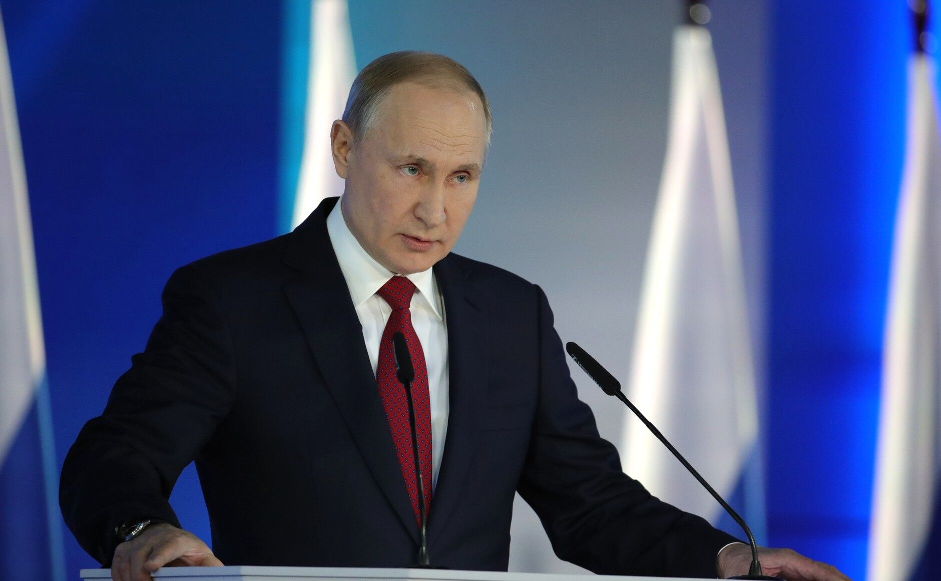 Глава РФ Володимир Путін