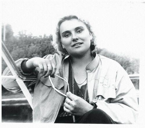 Марина Поплавська в молодості. На знімку їй 21 рік