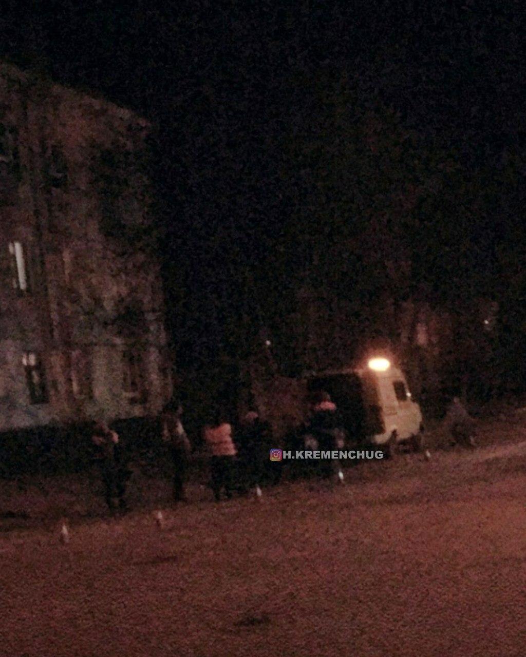 В Кременчуге всю ночь латали ямы на дорогах к приезду Зеленского