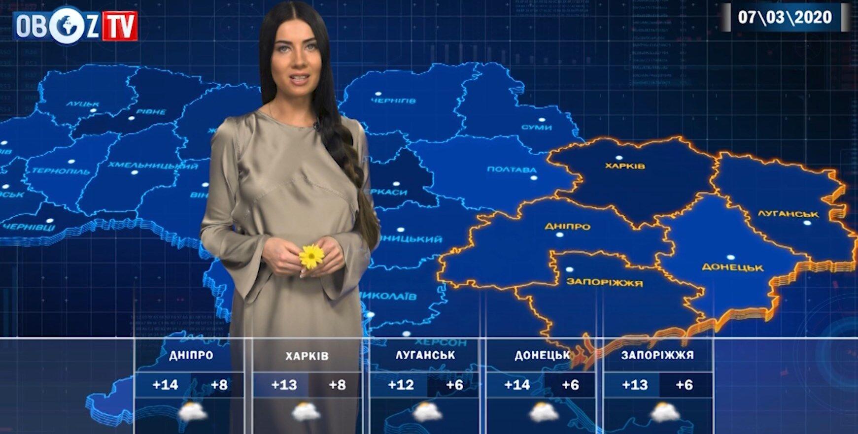 Погода перед 8 березня буде мінливою: прогноз від ObozTV