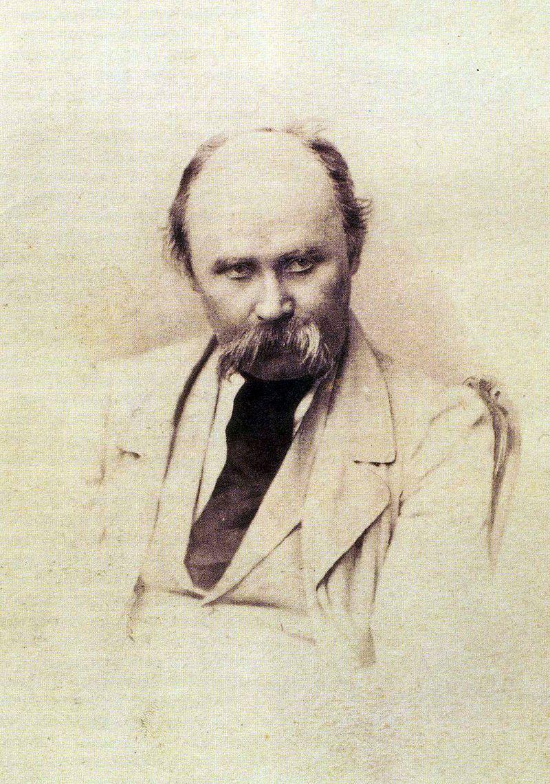 Тарас Шевченко в 1860 году