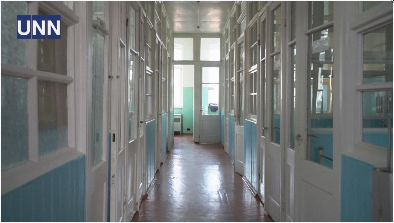 Інфекційна лікарня в Чернівцях, де розміщений хворий на коронавірус