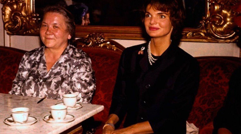 Нина Хрущева в США