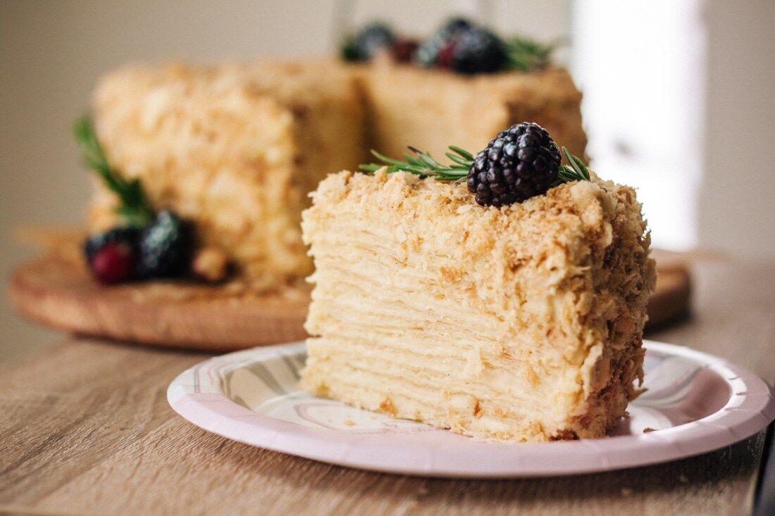 "Торт ""Наполеон"" без випічки"
