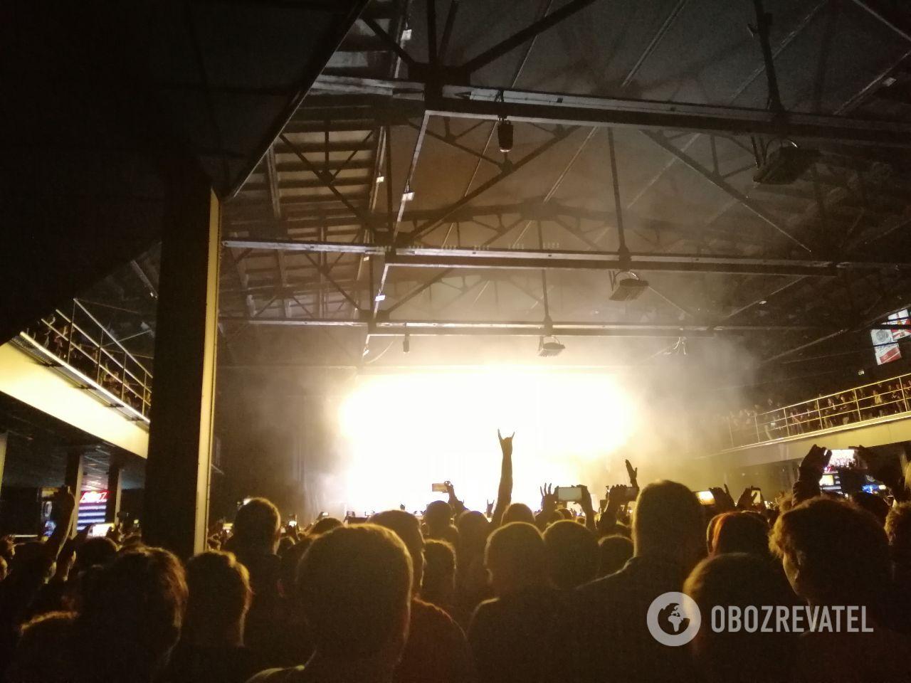Концерт Тилля Линдеманна в Киеве