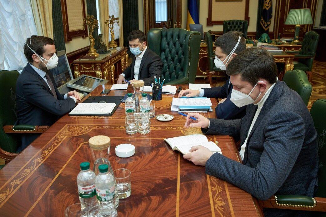 Совещание с Зеленским о ситуации с коронавирусом в Украине