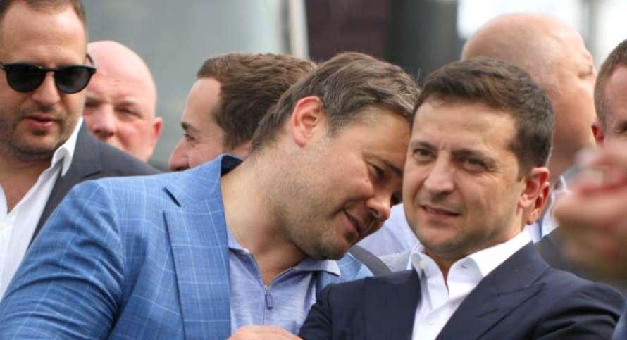 Андрій Богдан і президент