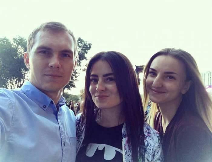 Олександр Євтеєв і Діана Берченко (праворуч) – загинули