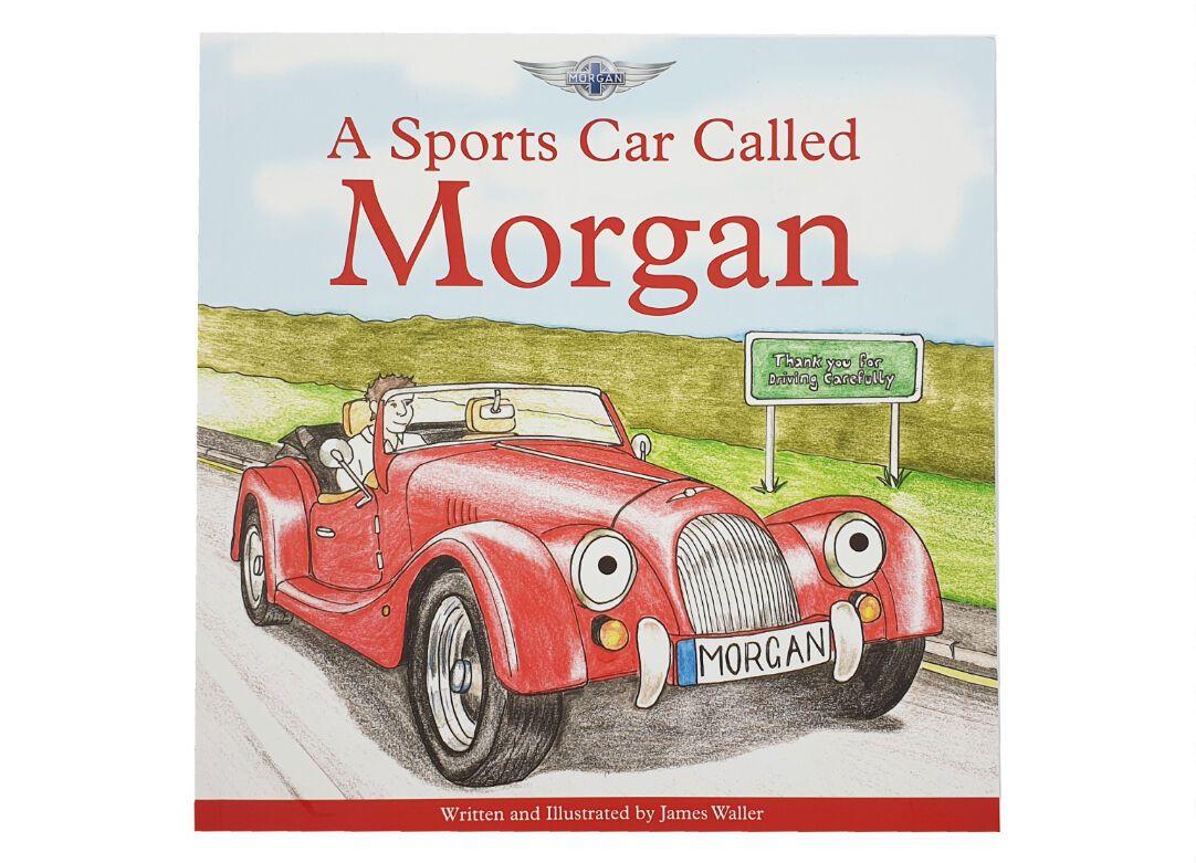 Обложка детской книги об истории Morgan Джеймса Уоллера