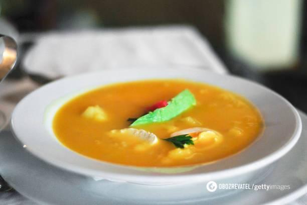 Сырный суп от известного повара