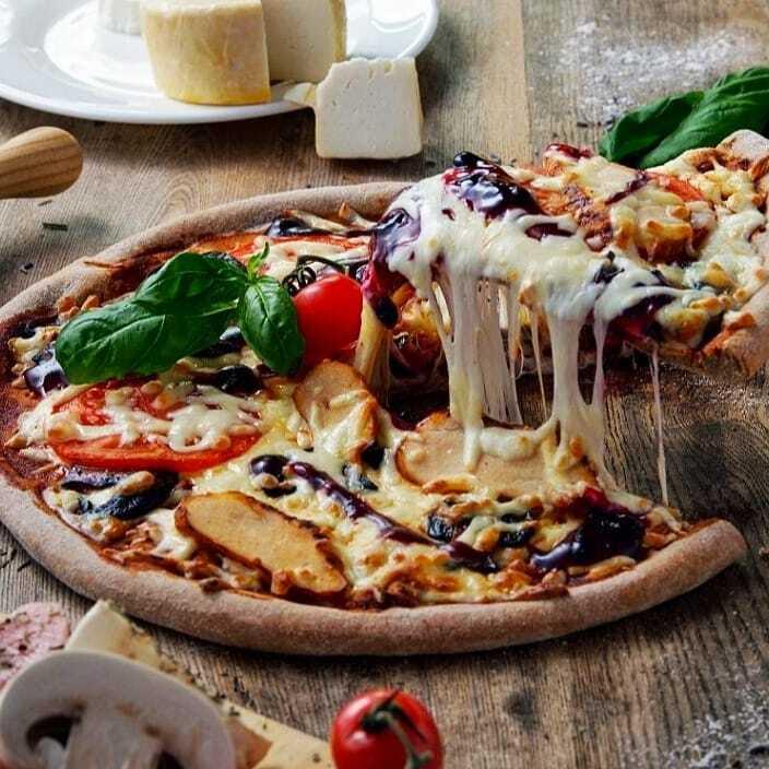 Легкая пицца от диетолога