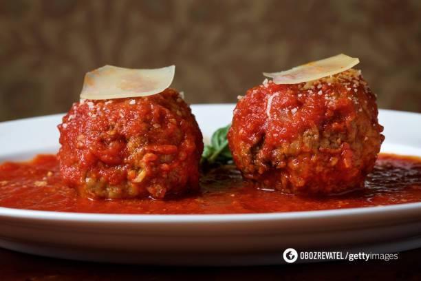 Польпетте от итальянских поваров