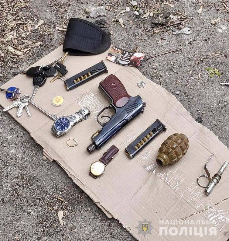 Спецназ затримав особливо небезпечного злочинця