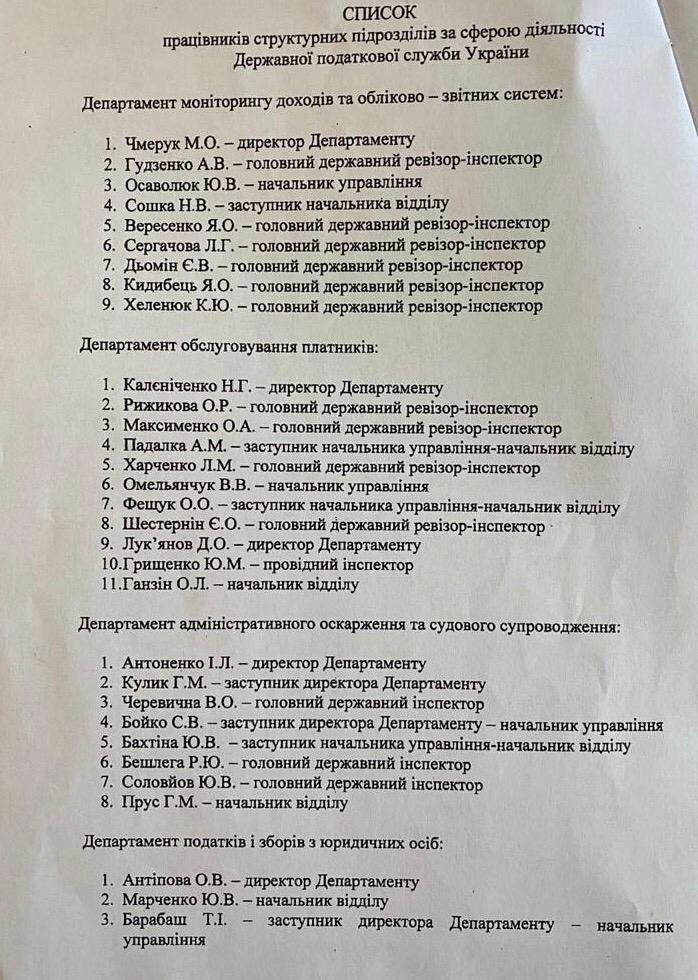 Головним податківцем України став Олексій Любченко: хто він такий