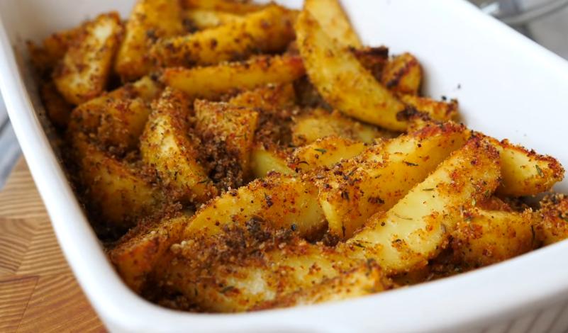 Готовим на карантине: бюджетный картофель в панировке