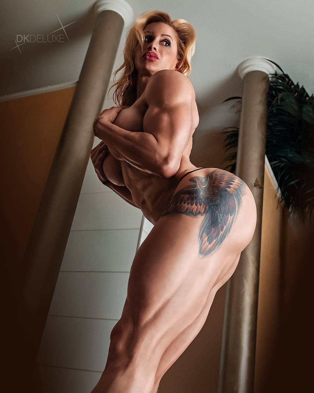 Marines muscle nude
