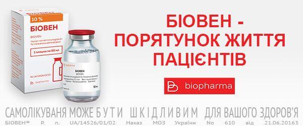 Начаты испытания украинского препарата для лечения осложнений COVID-19