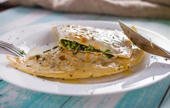Без мяса и яиц: рецепт кутабов для веганов