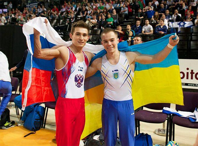 Верняєв з Белявским. Чемпіонат Європи-2015