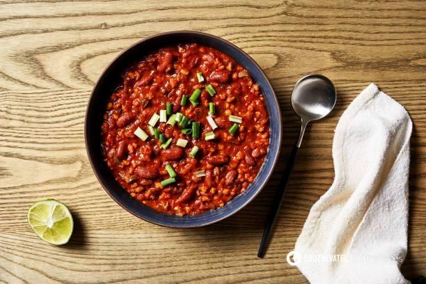Рецепт для тих, хто не їсть м'ясо: лобіо по-грузинськи